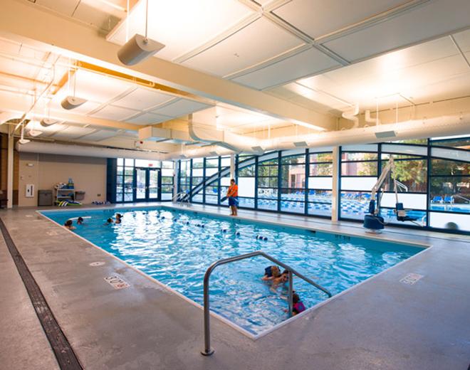 Williams Architects Elk Grove Park District Pavilion Aquatic Center