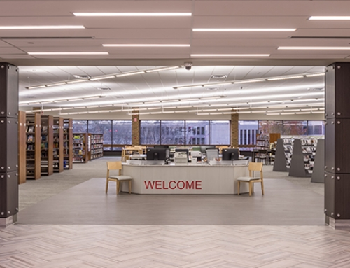 Naperville Public Library – Nichols Library Renovation